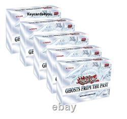 Yugioh Ghosts From The Past Sealed Display Case 5 Boxes Pre-sale 1st Class 14th