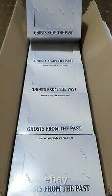 Yugioh Ghosts from the Past 1st Edition Display Box New Sealed CASE FRESH