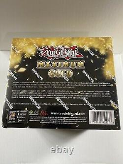 Yugioh! Maximum Gold Display Case Sealed Booster Box 1st Edition
