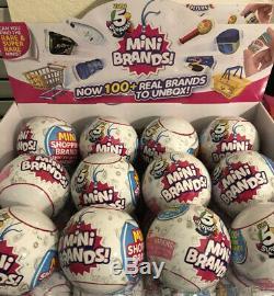 Zuru 5 SURPRISE! Mini Brands Full Case Of 12 Balls Ready To Ship No Display Box